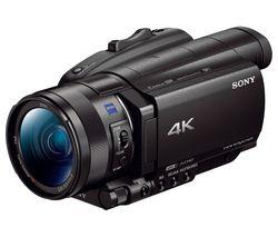 SONY FDR-AX100EB 4K Ultra HD Camcorder - Black