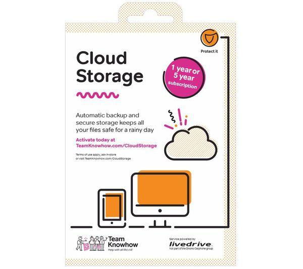MICROSOFT Office 365 Home (1 year, 5 users), McAfee LiveSafe Premium (1  year, unlimited devices) & Team KnowHow Cloud Storage (1 year, 2 TB) Bundle