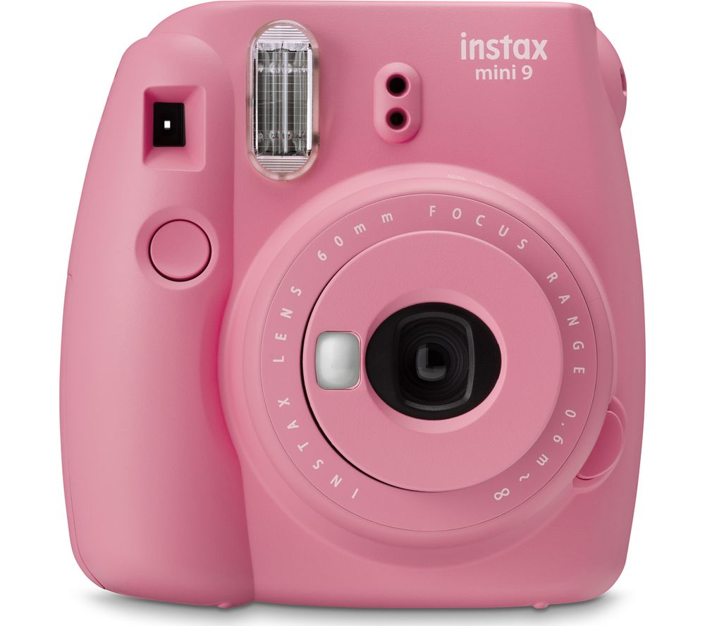 Click to view product details and reviews for Instax Mini 9 Instant Camera Blush Rose Pink.