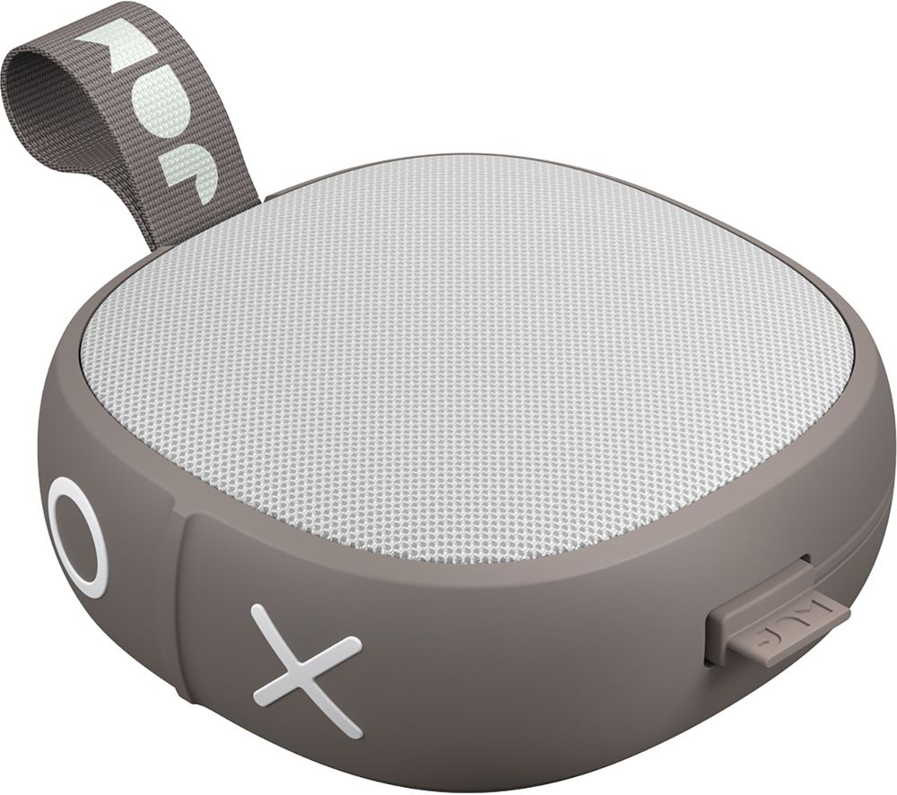Image of JAM Hang Up HX-P101GY Portable Bluetooth Speaker - Grey, Grey