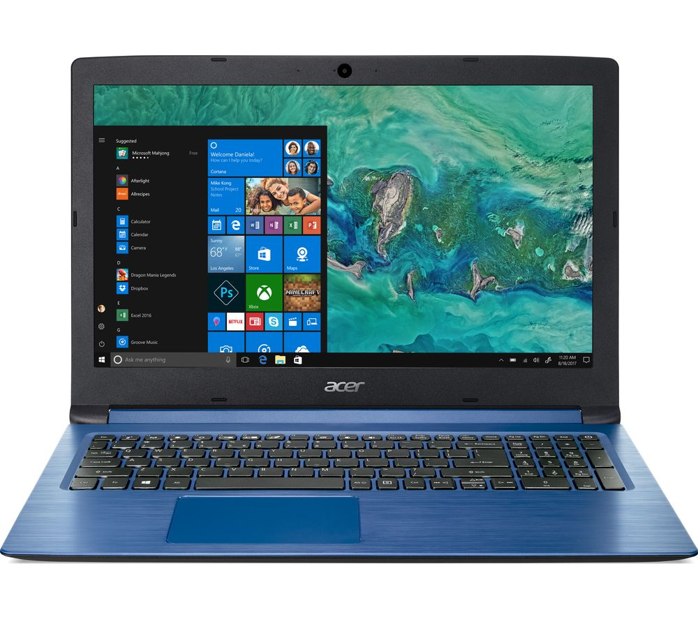 "ACER Aspire 3 A315-53 15.6"" Intel® Core™ i3 Laptop - 256 GB SSD, Blue"
