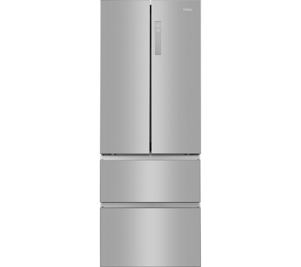Haier HB20FPAAA American Fridge Freezer - Stainless Steel Effect