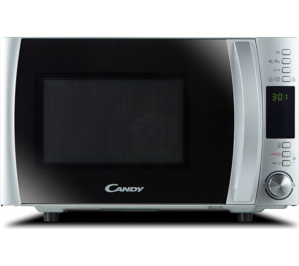 CANDY CMXW22DS-UK Compact Solo Microwave – Silver