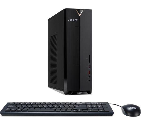 XC-885 Intel�? Core�? i3+ Desktop PC - 1 TB HDD, Black, Black
