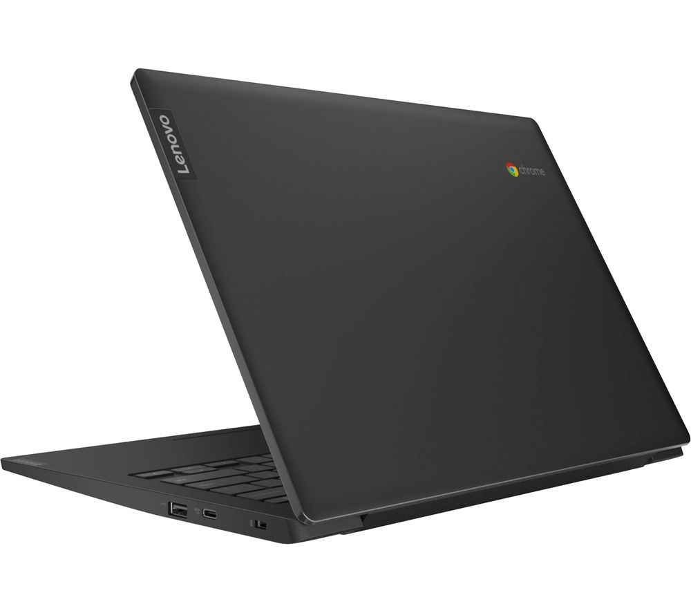 "Image of LENOVO S340 14"" Chromebook - Intelu0026regCeleron™, 64 GB eMMC, Black, Black"