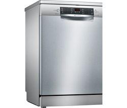 BOSCH Serie 4 SMS46II01G Full-size Dishwasher - Steel