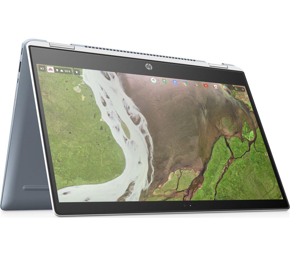 "HP x360 14-da0501na 14"" Intel® Core i3 2 in 1 Chromebook - 64 GB eMMC, White"