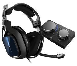 A40TR Gaming Headset & MixAmp Pro - Black