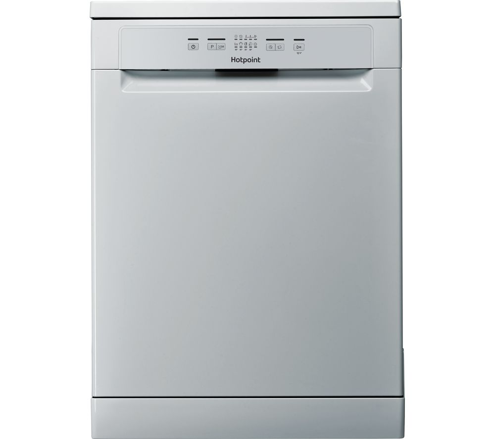 HOTPOINT Aquarius HFC 2B19 SV UK Full-size Dishwasher - Silver