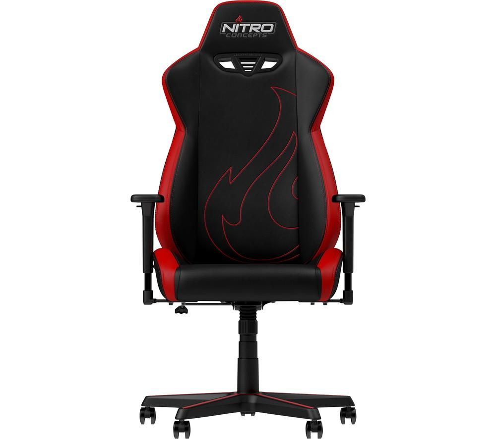 NITRO CONCEPTS S300 EX Gaming Chair - Black & Red