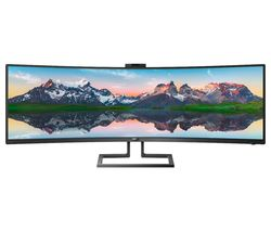 "Brilliance P-line 499P9H Quad HD 49"" Curved LCD Monitor - Black"