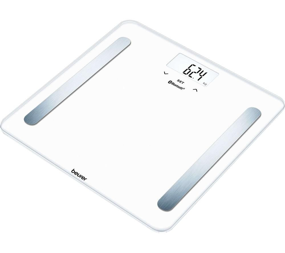 BEURER BF 600 Bathroom Scales - Pure White, White