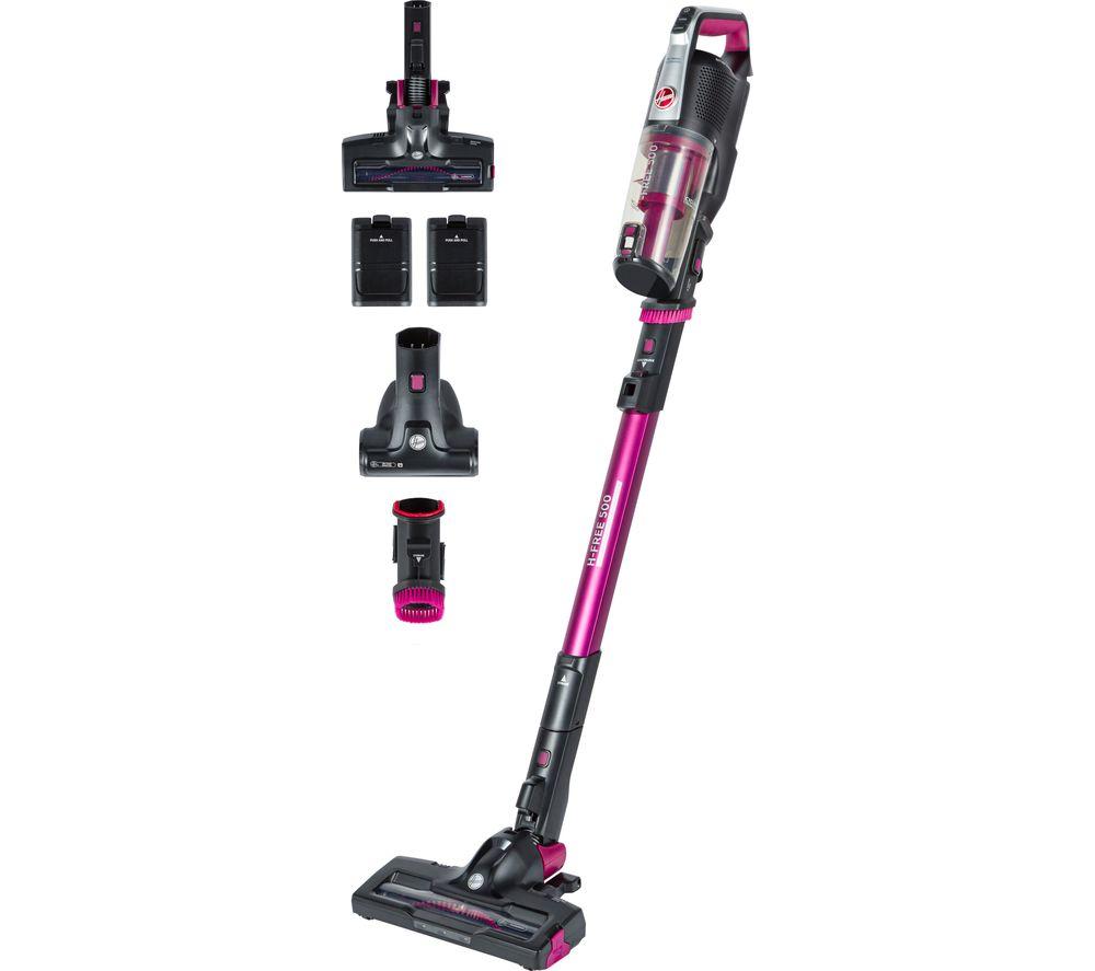 HOOVER H-FREE 500 Pets Energy HF522PTE Cordless Vacuum Cleaner - Magenta, Magenta