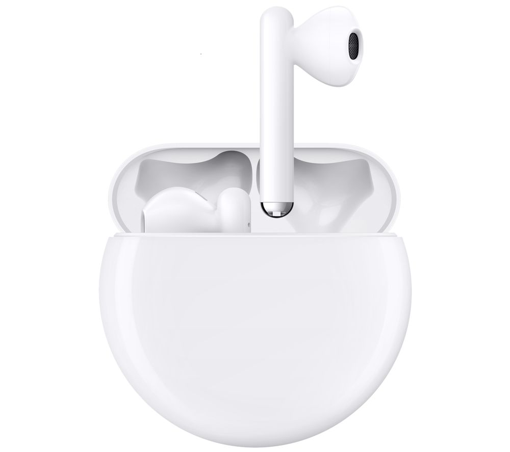 Image of FreeBuds 3 Wireless Bluetooth Noise-Cancelling Earphones - White, White