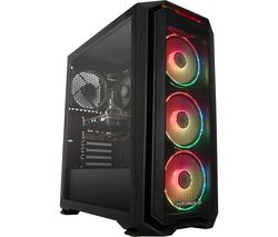 PC SPECIALIST Tornado R3 Gaming PC - AMD Ryzen 3, GTX 1650, 1 TB HDD & 256 GB SSD