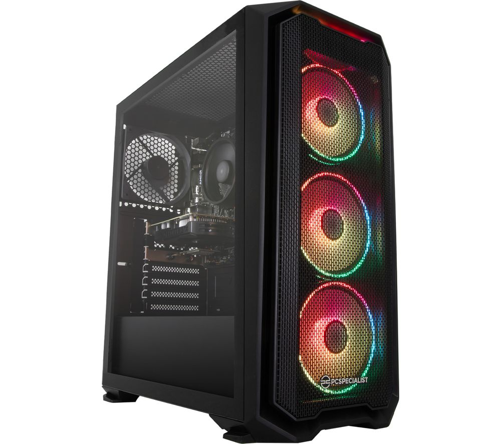 Image of PC SPECIALIST Tornado R3 Gaming PC - AMD Ryzen 3, GTX 1650, 1 TB HDD & 256 GB SSD