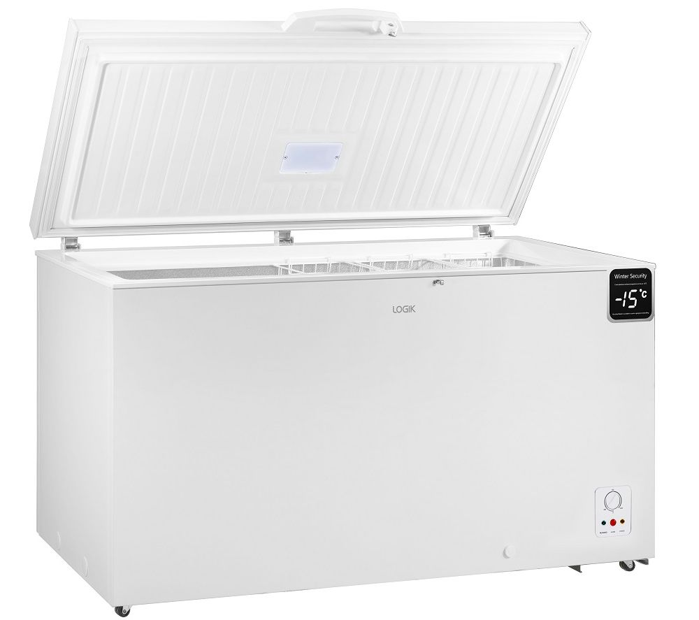 LOGIK L420CFW20 Chest Freezer - White, White