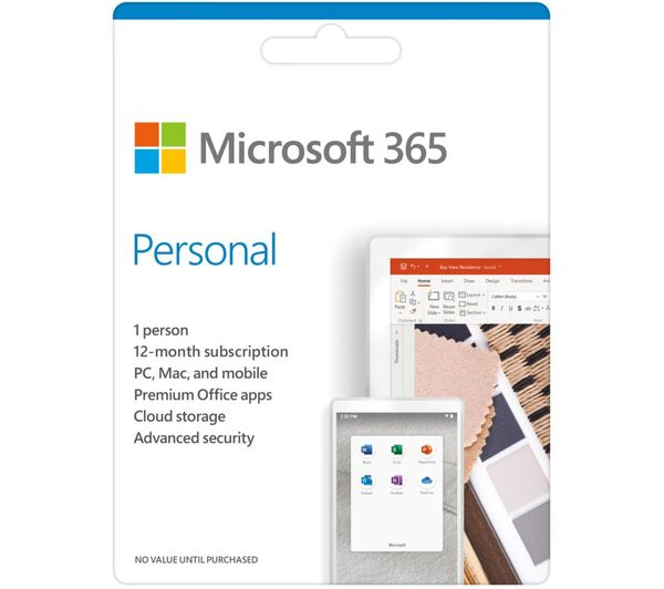 Image of MICROSOFT 365 Personal - 1 year for 1 user