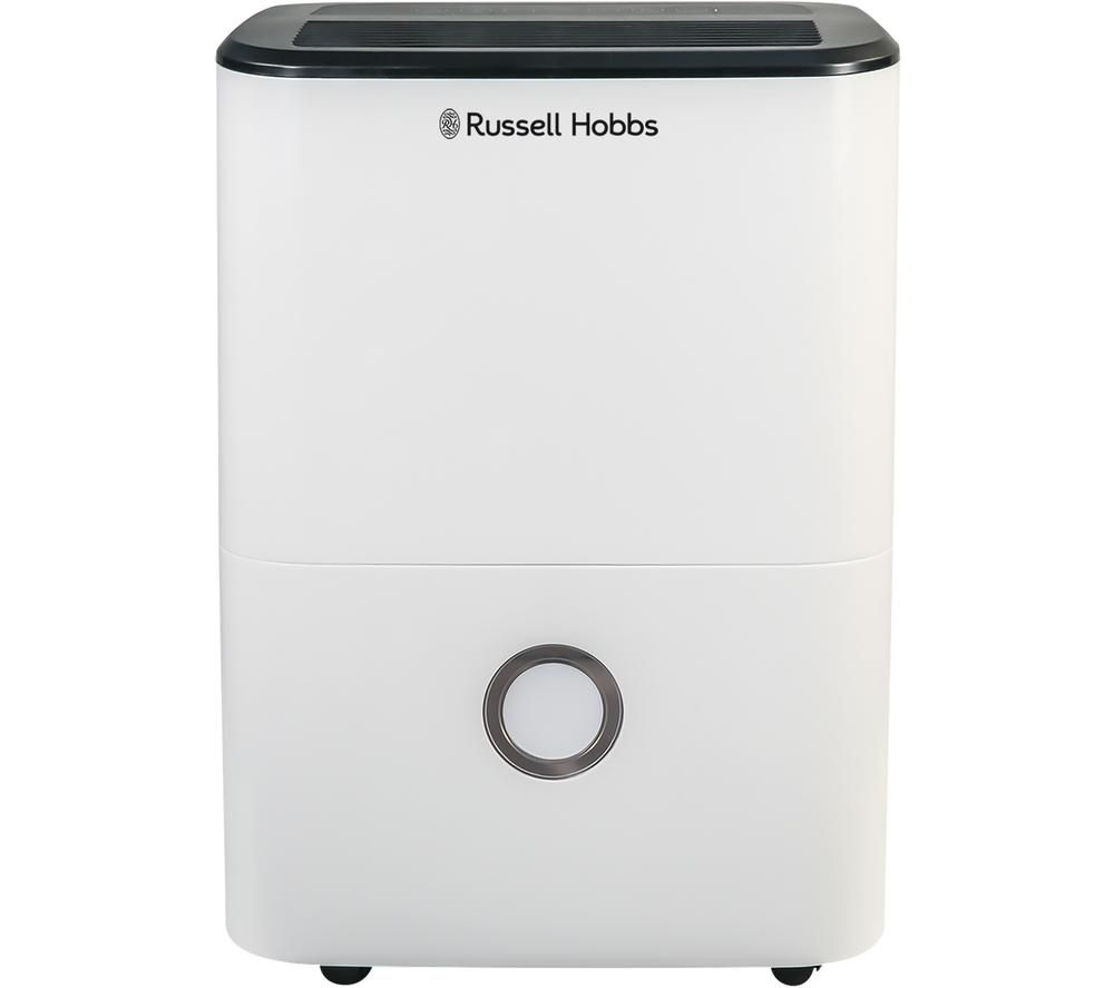 RUSSELL HOBBS RHDH2002 Portable Dehumidifier, Transparent