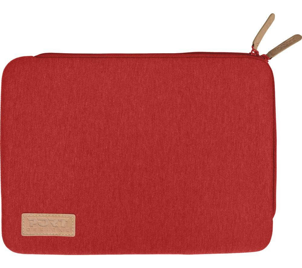 "PORT DESIGNS Torino 12.5"" Laptop Sleeve - Red"