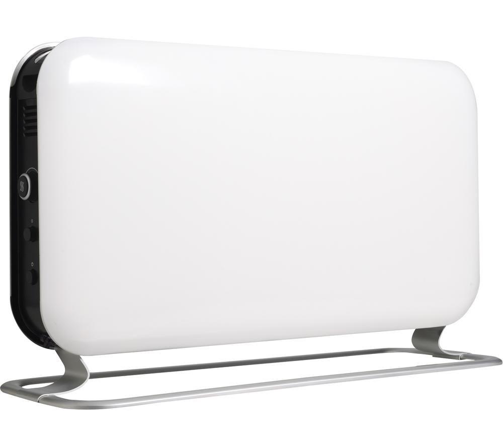 MILL Steel SG2000LED Panel Heater - White