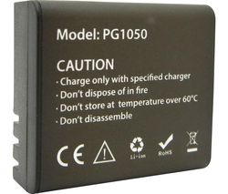 PG1050 Lithium-ion Camera Battery
