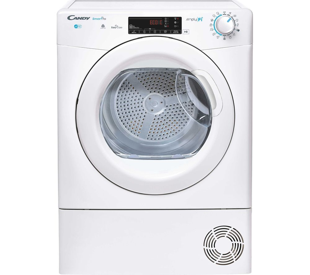 CANDY Smart Pro CSO C9TG WiFi-enabled 9 kg Condenser Tumble Dryer - White
