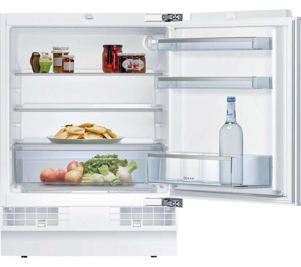 NEFF N50 K4316XFF0G Integrated Undercounter Fridge - Fixed Hinge