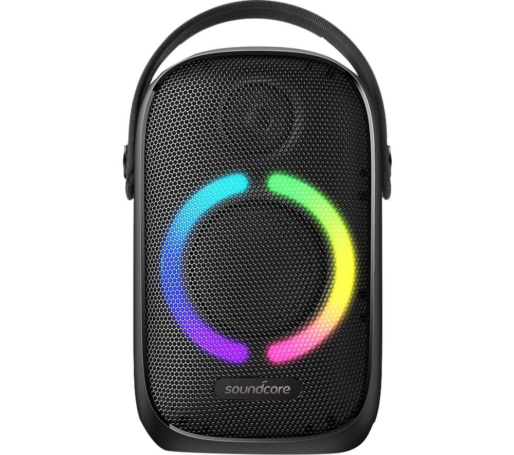 Image of SOUNDCORE Rave Neo Portable Bluetooth Party Speaker - Black, Black