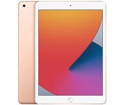 "Image of APPLE 10.2"" iPad (2020) - 128 GB, Gold"