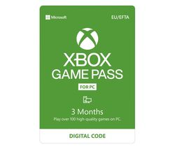 Game Pass for PC - 3 months
