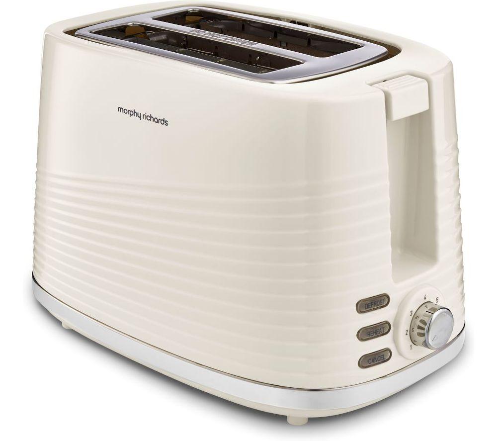 MORPHY RICHARDS Dune 220027 2-Slice Toaster - Cream