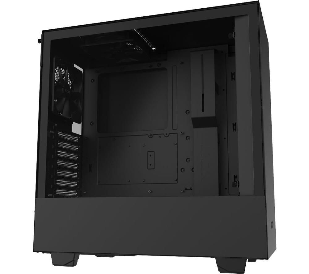 Image of NZXT H510 ATX Mid-Tower PC Case - Black, Black