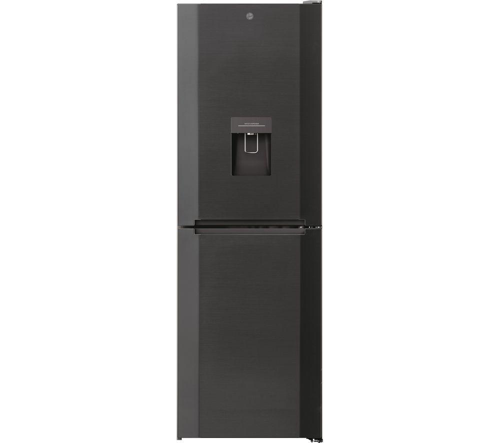 HOOVER HMNB 6182DX5KWDN 50/50 Fridge Freezer - Dark Stainless