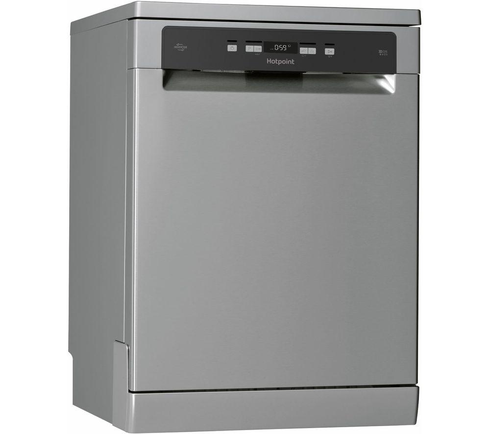 HOTPOINT HFC 3C26 WC X UK Full-size Dishwasher - Inox