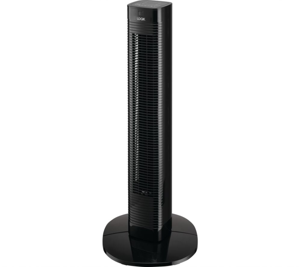 "LOGIK L08TFB21 Portable 12"" Tower Fan - Black"