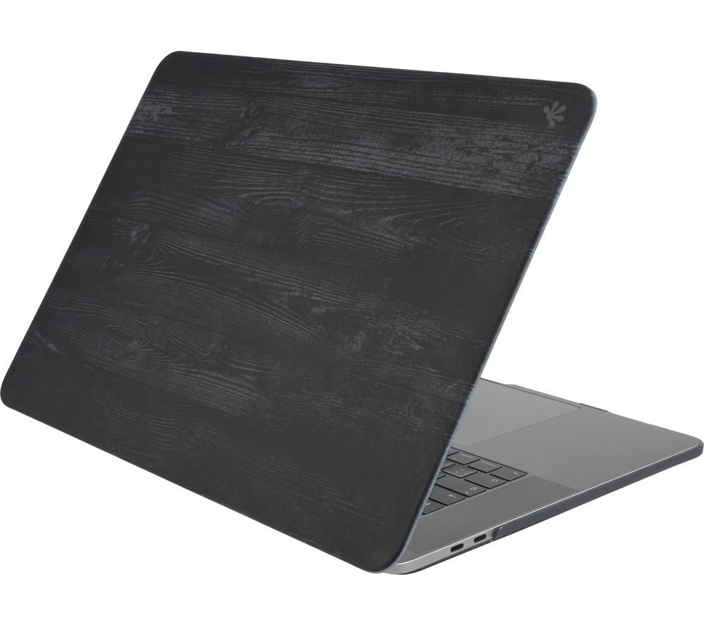 "GECKO COVERS MCLPP16C47 16"" MacBook Pro Hardshell Case - Black Wood"