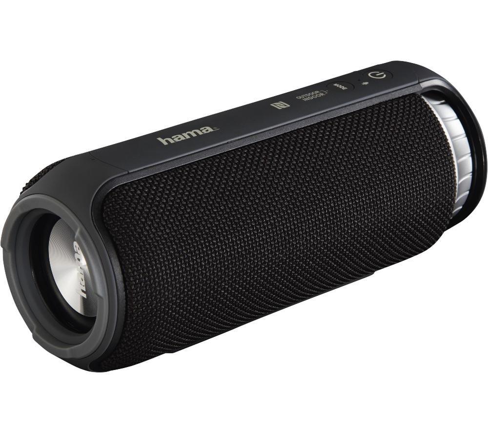 HAMA Soundcup-L Portable Bluetooth Speaker - Black, Black