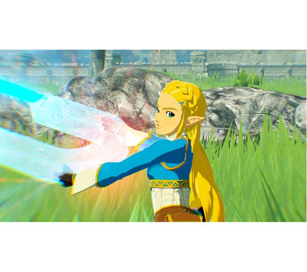 Buy Nintendo Switch Hyrule Warriors Age Of Calamity Free Delivery Currys