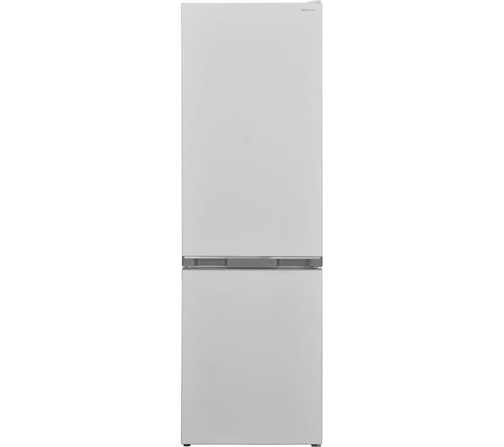 SHARP SJ-BB04DTXWF 60/40 Fridge Freezer - White, White