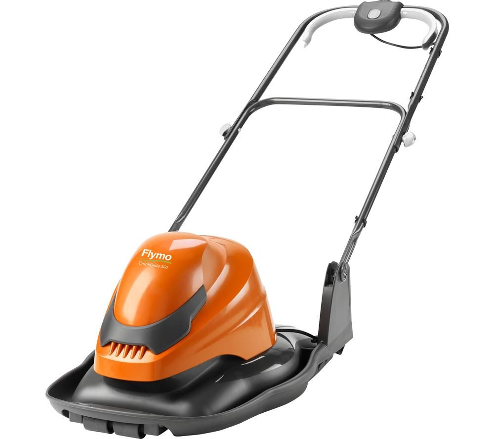 FLYMO SimpliGlide 360 Corded Hover Lawn Mower - Orange