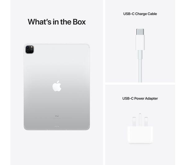 "Buy APPLE 12.9"" iPad Pro Cellular (2021) - 256 GB, Silver ..."