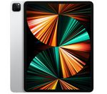 £999, APPLE 12.9inch iPad Pro Cellular (2021) - 256 GB, Silver, iPadOS, Liquid Retina XDR display, 256GB storage: Perfect for saving pretty much everything, Battery life: Up to 9 hours, Compatible with Apple Pencil (2nd generation) / Magic Keyboard / Smart Keyboard Folio,