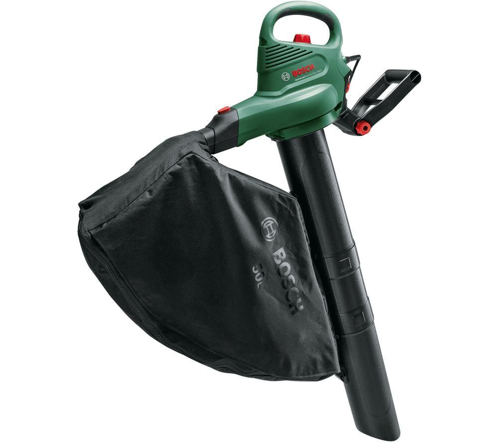 BOSCH UniversalGardenTidy 3000 Garden Vacuum & Leaf Blower - Black & Green