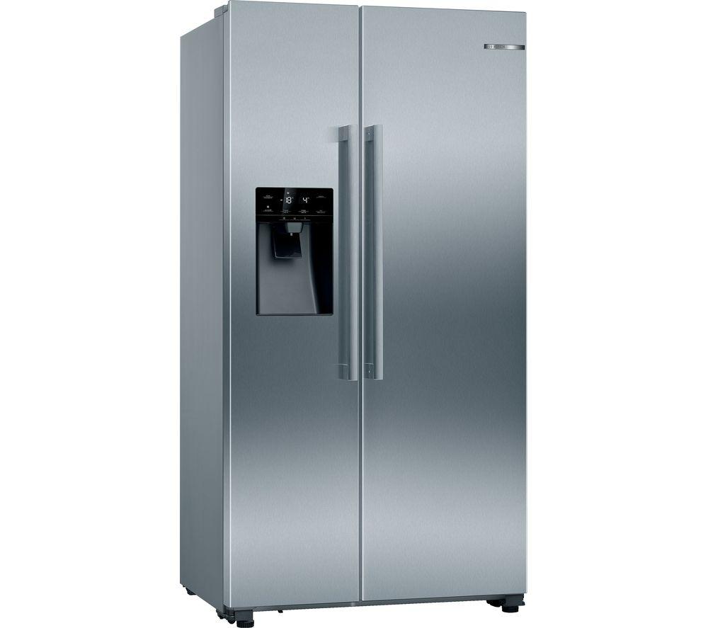 BOSCH KAD93VIFPG American-Style Fridge Freezer - Inox