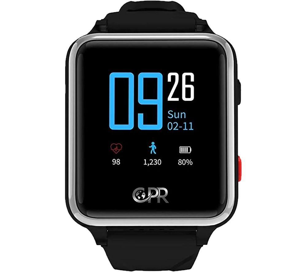 CPR GUARDIAN II Smart Watch - Black