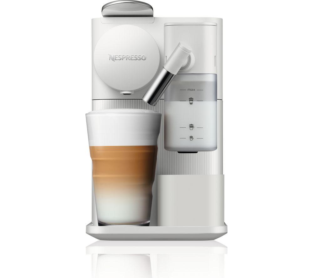 NESPRESSO by De'Longhi Lattissima One EN510.W Coffee Machine - White