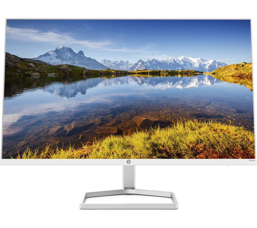 "HP M24fwa Full HD 23.8"" IPS LCD Monitor - White"