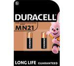 DURACELL A23/K23/LRV08 MN21 Alkaline Batteries