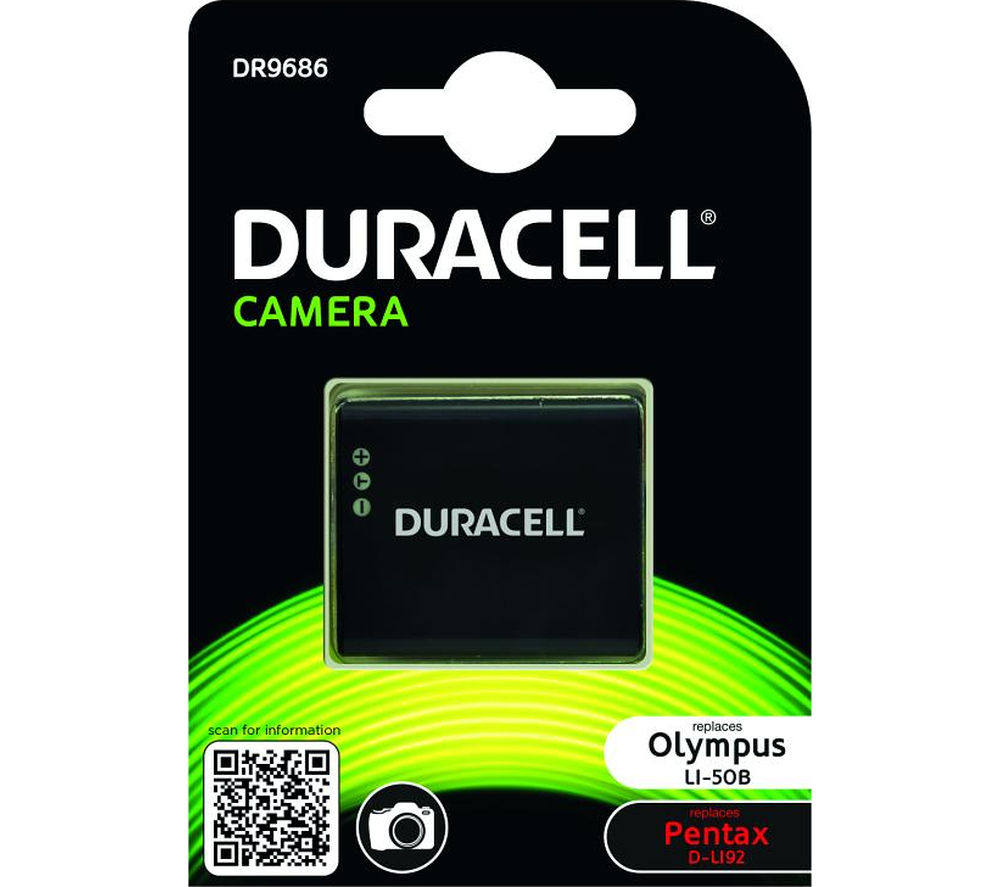 DURACELL DR9686 Lithium-ion Camera Battery
